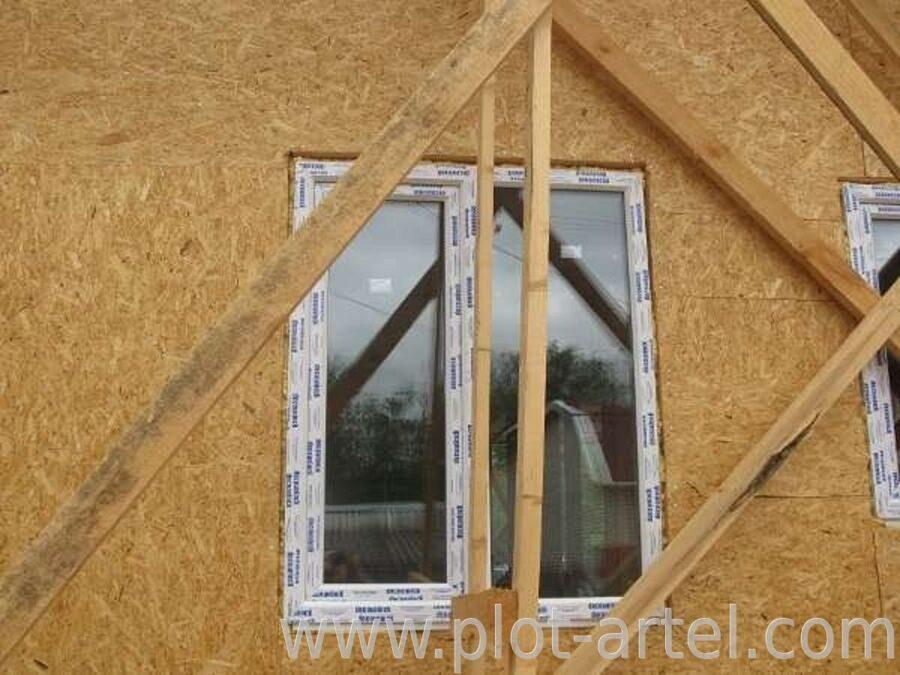 Установка пластикового окна в каркасном доме своими руками 92
