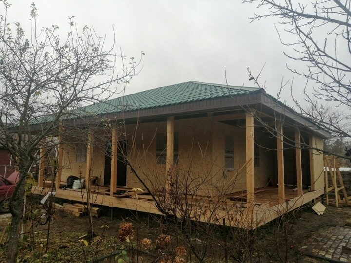 Консервация каркасного дома на зиму